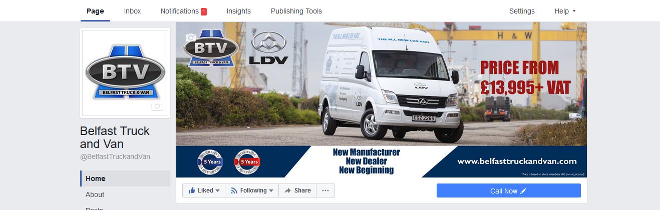 belfast-truck-and-van-facebook-page-genie-insights